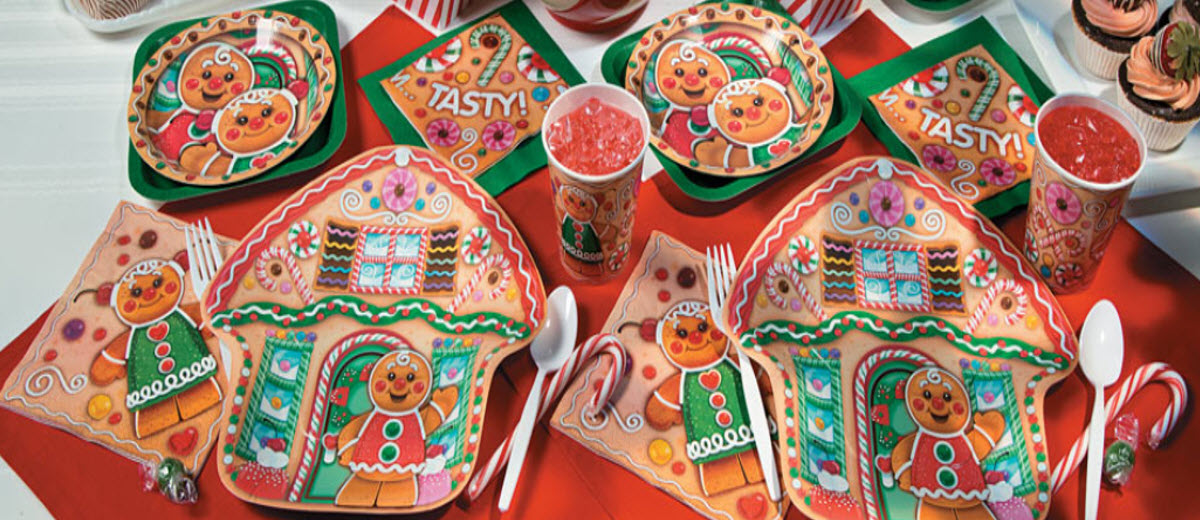 Gingerbread Candytown