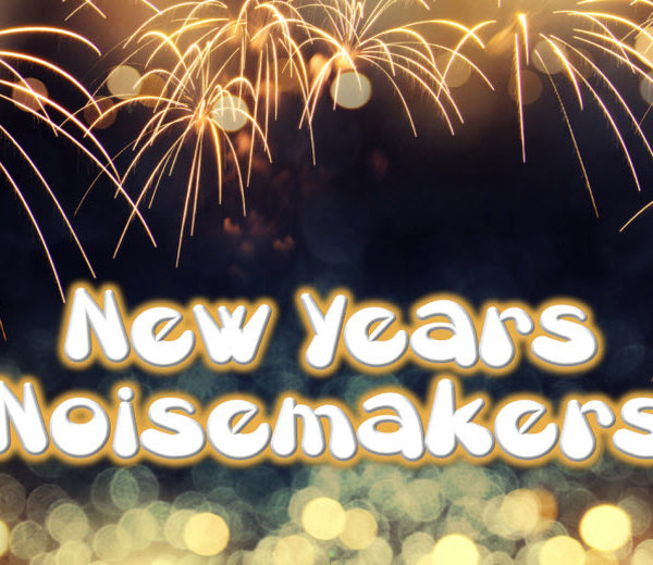 New Year's Eve Noisemakers