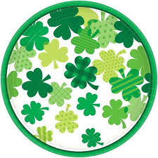 St Patrick's Party Tableware